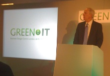 Christopher Mines of Forrester Research speaking at Green IT 2009 in London